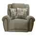 "Stafford Lay Flat Recliner in ""Platinum"" Color Fabric by Catnapper - 1770-7-P"