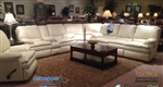 Perez 3 Piece Leather Reclining Sectional by Catnapper - 4141-SEC