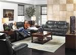 Catalina Leather 2 Piece Reclining Sofa Set by Catnapper - 431-2