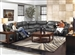 Catalina 3 Piece Reclining Sectional in Steel Leather by Catnapper - 431-3