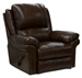 Benson Leather Lay Flat Chaise Recliner by Catnapper - 4550-7