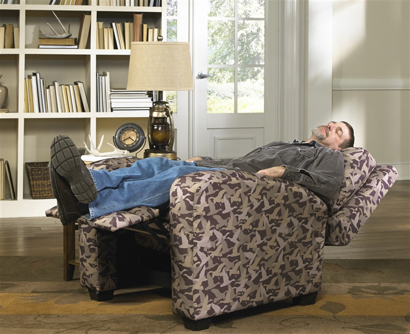 Duck Dynasty Mallard Creek Reclining Chair In Duck Camo Fabric By Catnapper 5800