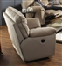 "Ashton Power Extra Wide Cuddler Recliner in ""Almond"" Color Fabric by Catnapper - 61110-4"