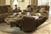 "Concord POWER ""Lay Flat"" Recliner in ""Pecan"" Color Fabric by Catnapper - 61420-7"