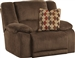 Hammond POWER Wall Hugger Recliner in Mocha, Coffee, or Granite Fabric by Catnapper - 61440-4