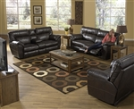 Nolan 2 Piece Leather POWER Reclining Sofa Set by Catnapper - 64041-S