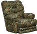 Duck Dynasty Big Falls POWER Lay Flat Recliner in Mossy Oak Infinity Camouflage Fabric by Catnapper - 65805-7-I