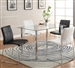 Crystal 5 Piece Dining Set by Crown Mark - 1240-2