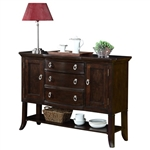 Katherine Sideboard in Dark Cherry Finish by Crown Mark - 2020-SB