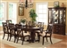 Katherine Complete Dining Set China Included in Cherry Finish by Crown Mark - 2020C