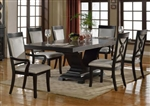 Serendipity 7 Piece Dining Set in Extra Dark Espresso Finish by Crown Mark - 2031