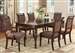Savoy 5 Piece Dining Set in Dark Cherry Finish by Crown Mark - 2225-5