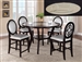 Gianna 5 Piece Counter Height Dining Set in Espresso Finish by Crown Mark - 2736