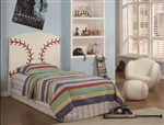 Baseball 3 Piece Youth Bedroom Set by Crown Mark - 5001