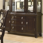Meredith Buffet in Espresso Finish by Coaster - 103534B