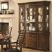Avery Buffet & Hutch in Brown Oak Finish by Coaster - 103544