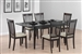 5 Piece Dining Set in Cappuccino Finish by Coaster - 103721