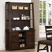 Julius Buffet and Hutch in Rustic Walnut Finish by Coaster - 103764