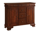 Beamont Server in Merlot Finish by Coaster - 104135