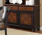 Connor Buffet in Two Tone Tobacco and Black Finish by Coaster - 104194B