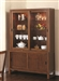 Camila Buffet with Hutch in Walnut Finish by Coaster - 104294