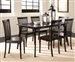 Ludwin 7 Piece Dining Set in Cappuccino Finish by Coaster - 104441