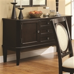 Crest Hill Server in Cherry Brown Finish by Coaster - 105675