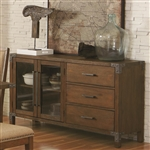 Arcadia Server in Weathered Acacia Finish by Coaster - 105685