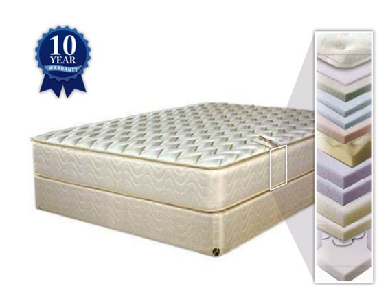 "How Do I Get Pure Form 121 Series 12"" High Queen Size Body Dynamic Memory Foam Plush Top"