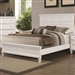 Camellia Bed in White Finish by Coaster - 200221Q