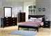 Stuart 6 Piece Bedroom Set in Rich Cappuccino Finish by Coaster - 200300
