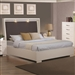 Jessica Built-in Touch Lighting Bed in White Finish by Coaster - 200920Q