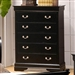 Louis Philippe Chest in Black Finish by Coaster - 201075