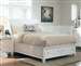 Sandy Beach Storage Bed in White Finish by Coaster - 201309Q
