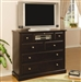 Harbor Media Chest in Rich Cappuccino Finish by Coaster - 201386