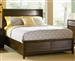 Audrey Storage Bed in Warm Mahogany Finish by Coaster - 201721Q