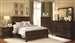Nortin 6 Piece Bedroom Set in Dark Cherry Finish by Coaster - 202191