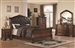 Maddison 6 Piece Bedroom Set in Warm Brown Cherry Finish by Coaster - 202261