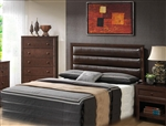Remington Brown Bycast Headboard in Cherry Finish by Coaster - 202311HQ