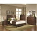 Addley Panel Bed 6 Piece Bedroom Set in Dark Cherry Finish by Coaster - 202451