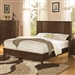 Addley Panel Bed in Warm Brown Finish by Coaster - 202451Q