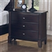 Addley Nightstand in Dark Cherry Finish by Coaster - 202452