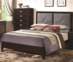 Andreas Bed in Cappuccino Finish by Coaster - 202471Q