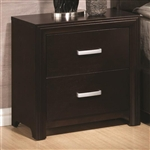 Andreas Nightstand in Cappuccino Finish by Coaster - 202472