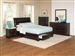Webster 6 Piece Storage Bed Bedroom Set in Brown Maple Finish by Coaster - 202491