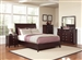 Albright 6 Piece Bedroom Set in Dark Cherry Finish by Coaster - 202651