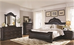 Cambridge 6 Piece Bedroom Set in Cappuccino Finish by Coaster - 203191