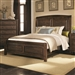 Laughton Bed in Rustic Brown Finish by Coaster - 203260Q