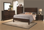 Cameron 6 Piece Bedroom Set in Rich Brown Finish by Coaster - 203491