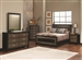 Landon 6 Piece Bedroom Set in Two Tone Brown and Black Finish by Coaster - 203571